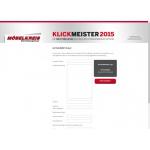 Klickmeister2015 — Mai 2015
