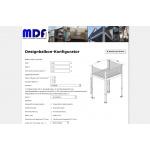 MDF Designbalkon-Konfigurator — Dezember 2018